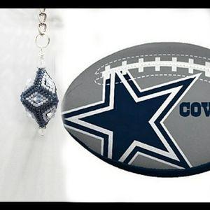 Football Keychain (Cowboys)
